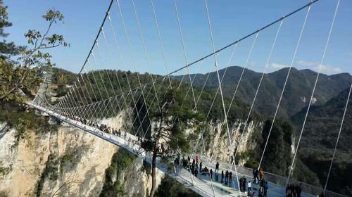 长沙-张家界-大峡谷玻璃桥-天门山玻璃栈道-凤凰古城
