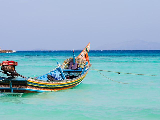 泰国 普吉岛6日4晚跟团游 五星海景房 泳池别墅 双岛出海 攀牙湾 全程