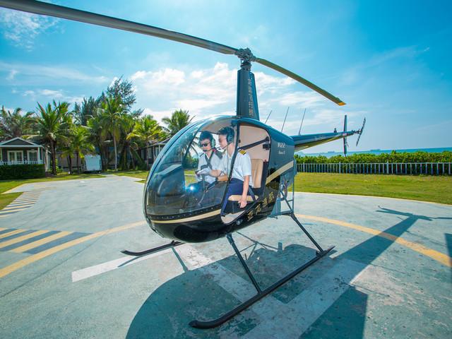 【机不可失】<三亚直升机观光体验>够酷够炫,帅炸你的朋友圈(3人起订)