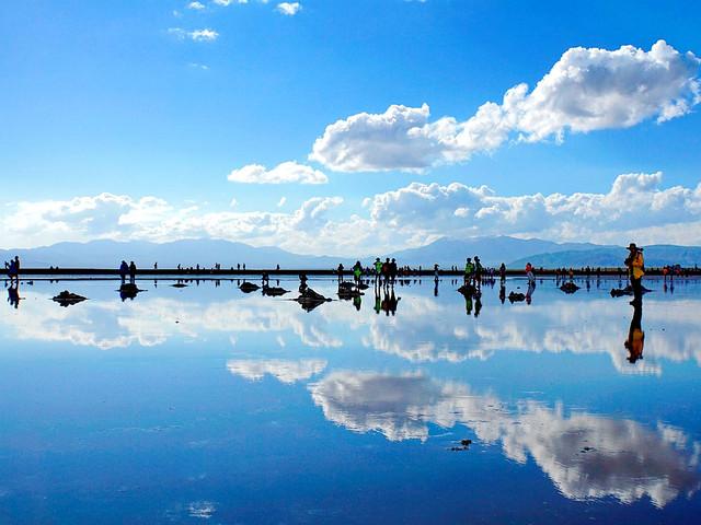 茶卡鹽湖-張掖丹霞-卓爾山-青海湖沙島6日游>16人精品小團,0購輕戶外