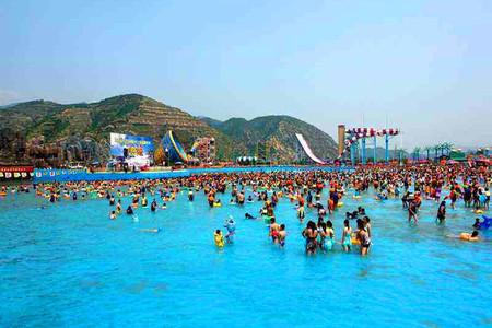 庞泉沟水上乐园1日游 集合点附近可免费接,清凉水世界