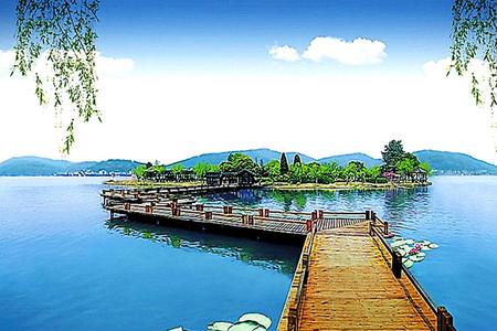 南北湖 海盐绮园 嘉兴梅花洲等多个景点,门票自选 入住此酒店南北湖图片