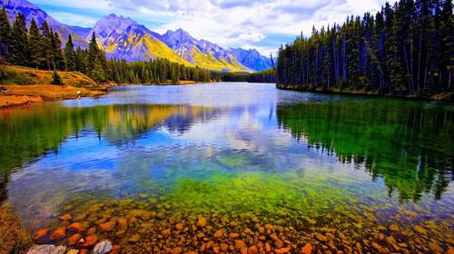 加拿大东西海岸-落基山-班夫国家公园-大瀑布12-15日游