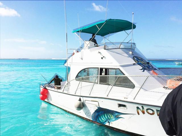 塞班岛出海垂钓,拖钓体验