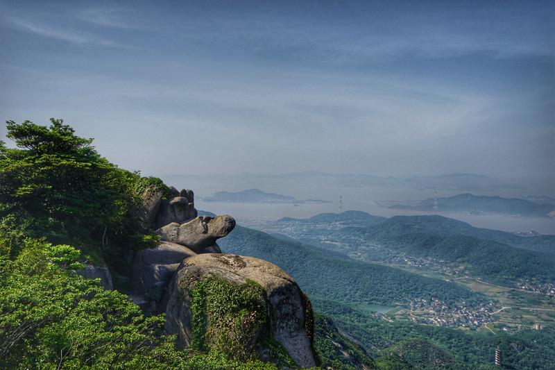 【首發】風景如畫的舟山桃花島