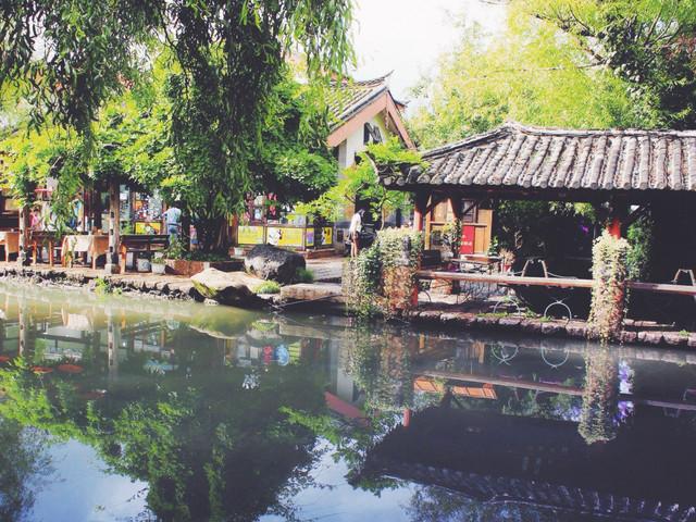 束河攻略塔皇家防3古镇图片