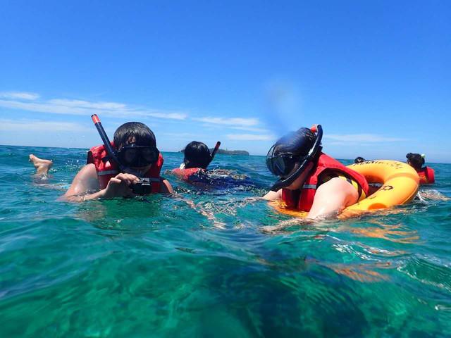 【升级双体船】<沙巴美人鱼岛BP度假村浮潜一日游>(赠水底拍照贵宾服务),私人沙滩,浮潜洗浴