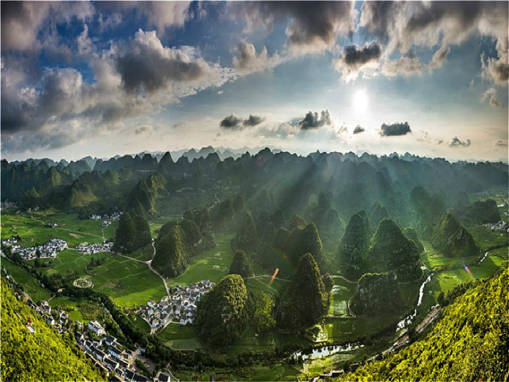 精选景点:5a级风景区——黄果树瀑布,多彩贵州风,全世界最大的苗族