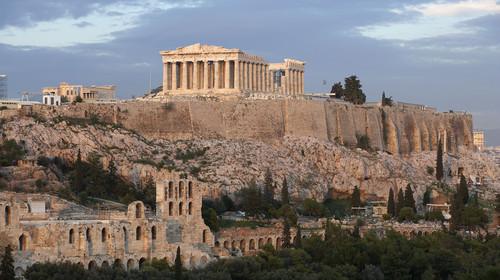 Greece, Athens, The Acropolis, The Parthenon