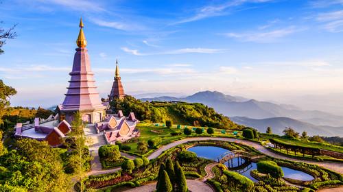 泰国清迈+拜县机票+当地