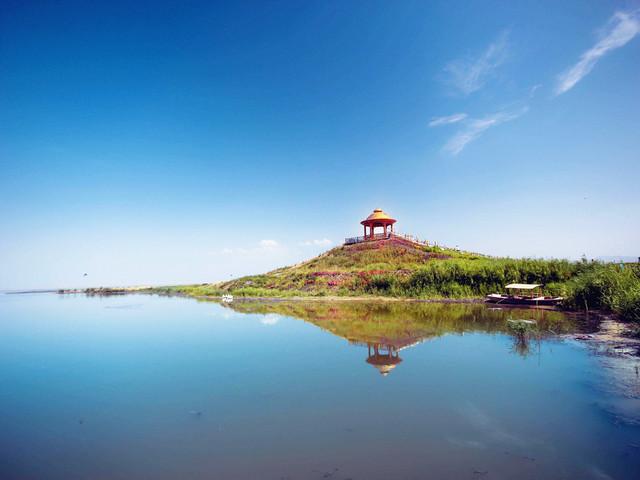 景点 · 罗布人村寨 - 博斯腾湖
