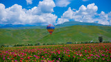 新疆喀纳斯湖月亮湾