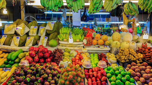 Tropical fruits of Thailand