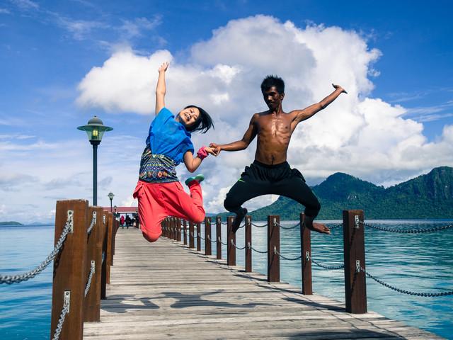 东姑阿都拉曼公园 沙比岛+马努干岛 双岛一日游