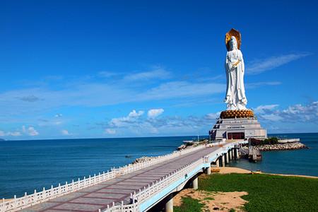 <海南+三亚+天涯海角1日游>纯玩海岛,祈福南山,别有洞天,佛教与道教文化相结合,含往返接送、门票