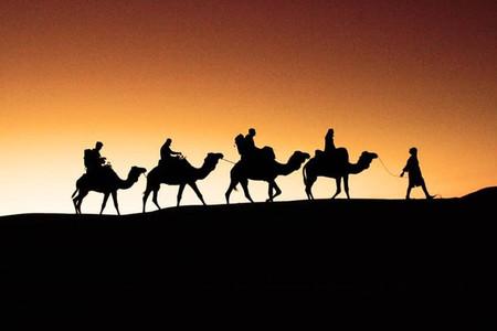 <摩洛哥卡塔尔13日游>纯玩小团,不走回头路,舍夫沙万/艾西拉/丹吉尔/卡萨布兰卡/拉巴特,四驱车进撒哈拉,网红打卡,特色酒店