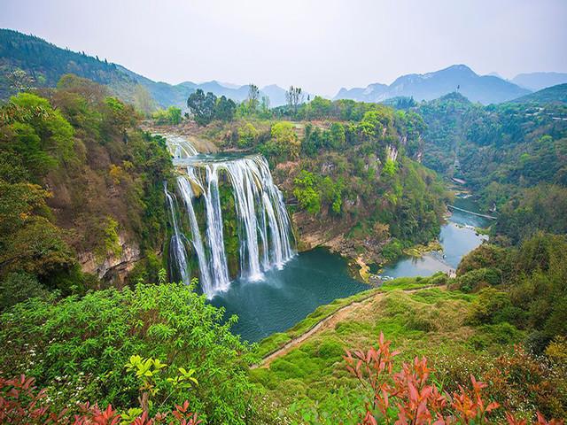 是除尼亚加拉瀑布和维多利亚瀑布之外的第三大瀑布,国家首批5a级风景