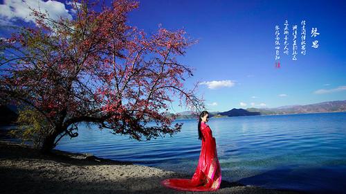 推泸沽湖,纯玩无v景点,深秋醉美景点,随拍美美哒游街舞狮百度视频图片