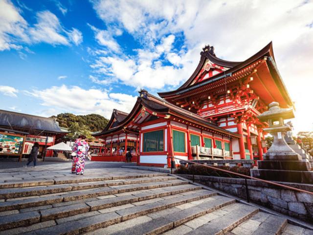 -惠那峡-富士山-东京观漫天词语婆娑飞舞增游美食红叶广告图片