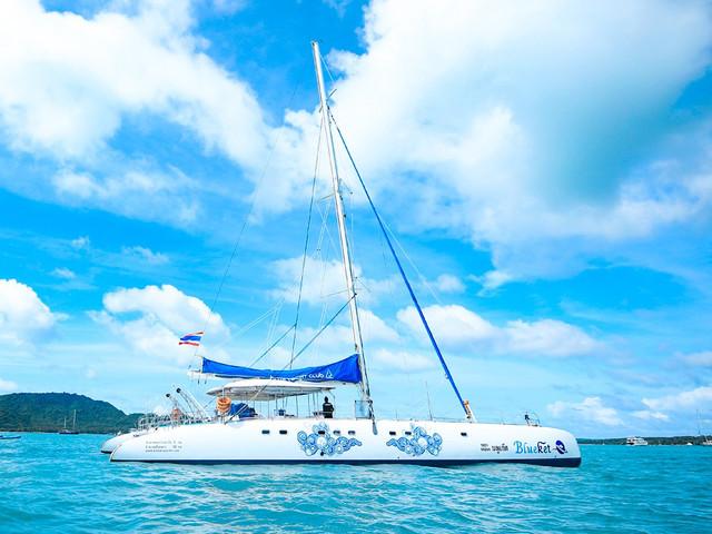 双体帆船-1