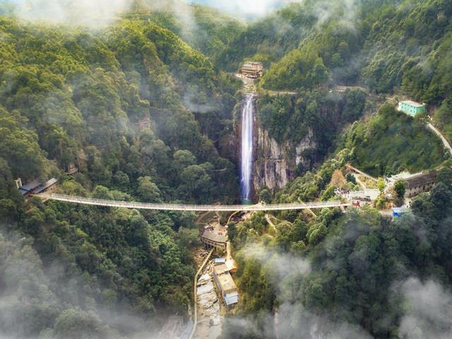 三明尤溪侠天下景区1日游 勇闯双层极限玻璃悬桥图片