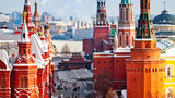 Red Square and Kremlin in Moscow