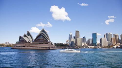 悉尼歌剧院,海湾,悉尼,澳大利亚,