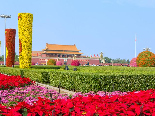 北京天安门广场长城八达岭长城故宫一日游五2014春节昆明旅游攻略图片