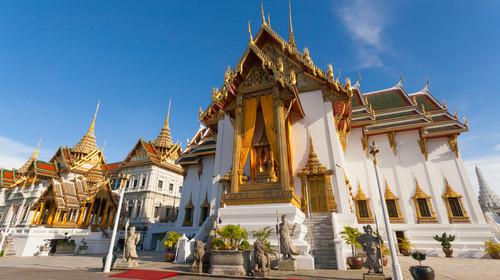 Grand Palace Bangkok Thailand in day time
