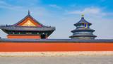北京天坛公园祈年殿建筑风光
