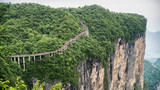 The Cliff  Hanging Walkway at Tianmen Mountain, The Heaven