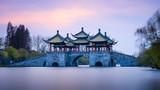 中国江苏扬州瘦西湖莲花桥
