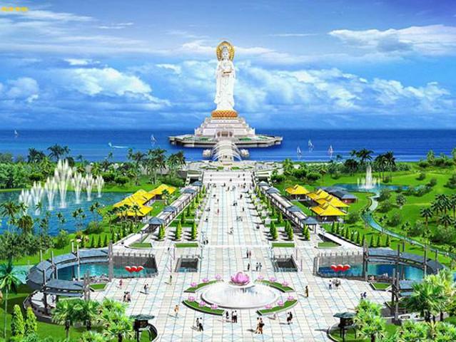 游览中国内陆最南端的祈福圣地—【南山文化旅游区】这里是集园林