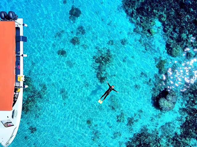 <仙本那马达京岛+邦邦岛+汀巴汀巴浮潜/深潜一日游【赠送玻璃船/水下拍摄 可选拖拽伞】>