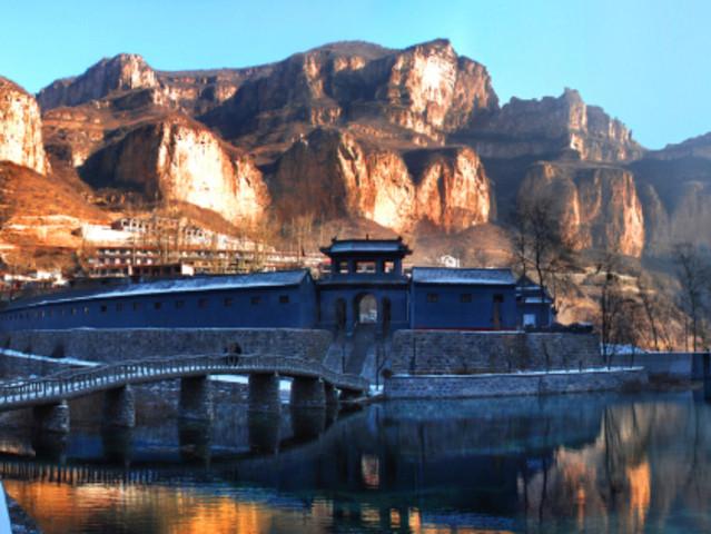 <河北平山沕沕水生态风景区一日游【春暖花开 沿河观柳 亲近自然的踏青之旅 】>