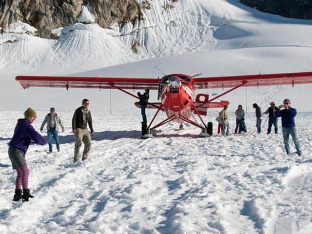 <安克雷奇夏季體驗+北美高峰-迪納利山觀光飛機體驗>