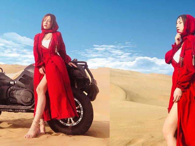 <敦煌國際沙漠露營體驗 鳴沙山露營 沙漠摩托車 日出日落 篝火晚會>