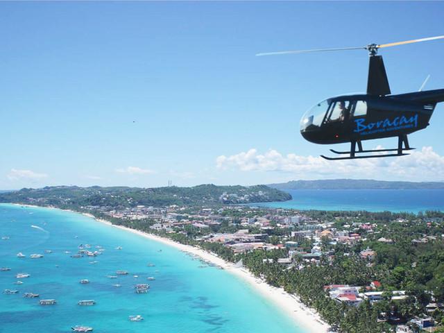 <长滩岛直升机飞行体验>