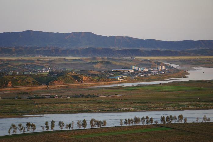 虎山长城,近赏北朝鲜风光-遇见旅行