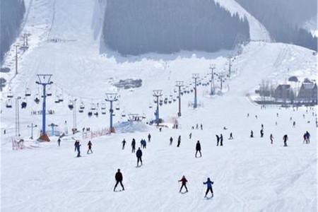 <新疆南山丝绸之路国际滑雪场1日游>纯玩越过山丘挑战极限畅玩冰雪季冰爽体验一酷到底