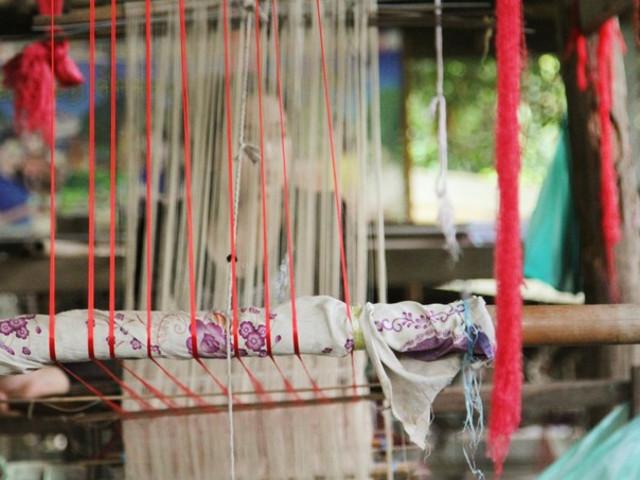 用布织布做动物
