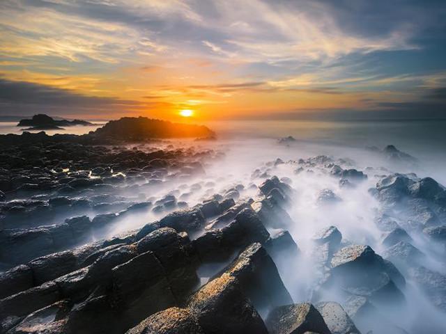 <火山岛地质公园1日游>原生态海岛风情的度假休闲绝佳之地,轮船返回厦门