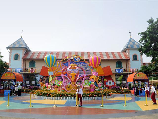 广州长隆野生动物园 珠海海洋王国 长隆大马戏or欢乐世界双飞4日游