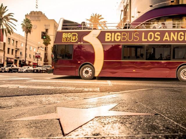 <【品牌直签,闪电出票】Big Bus Los Angeles 洛杉矶随上随下观光巴士>
