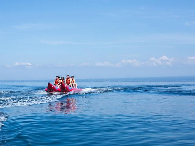 上海直飞巴厘岛5晚7天 含旅拍蓝梦岛出海 阿勇河漂流 热石spa 1晚
