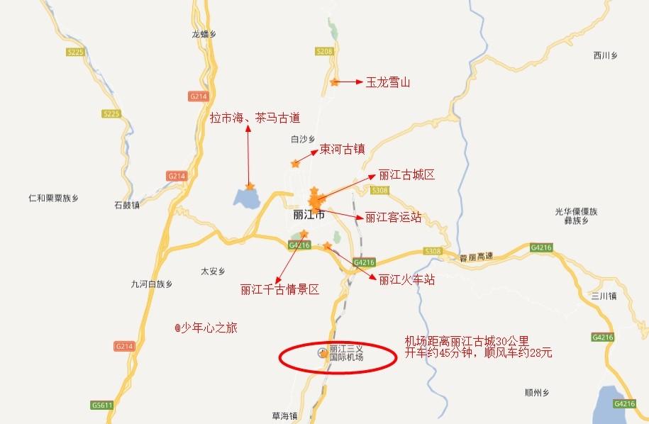 4公里.去束河交通攻略也很方便,古城附近或客运站都有车.桂林一日自助游古镇图片