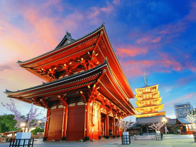 奈良大阪+东京+京都+名古屋+富士山+日本5晚暑假美食节名称图片