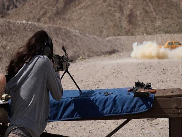 <拉斯维加斯莫哈韦沙漠MGV户外射击体验>(必玩项目)