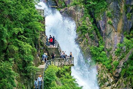 大明山風景區是浙西省級風景名勝區,國家aaaa級風景旅游