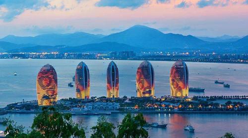 海南海口-三亚-分界洲-天